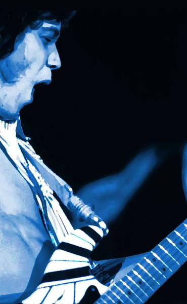 Photograph - Enhanced Rockin The Blues Art by Ben Upham
