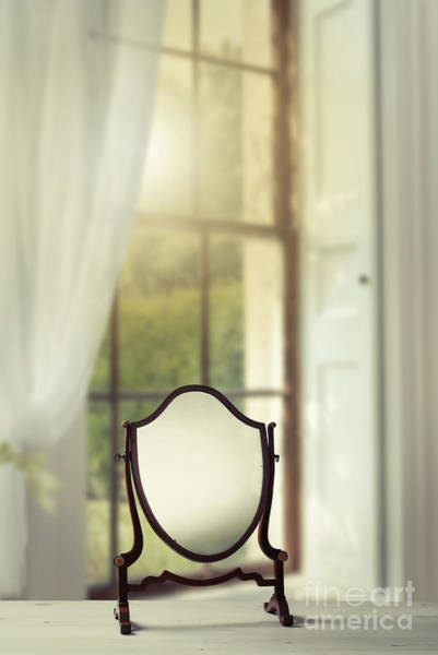 Wall Art - Photograph - Edwardian Mirror by Amanda Elwell