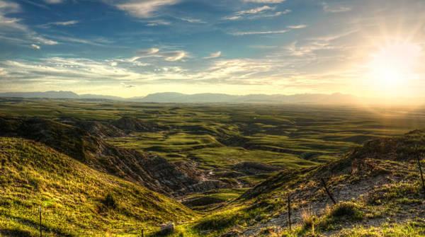 Photograph - Egg Mountain Montana by Nisah Cheatham