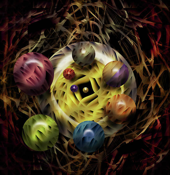 Hidden Treasures Digital Art - Egg Production by Andy Young