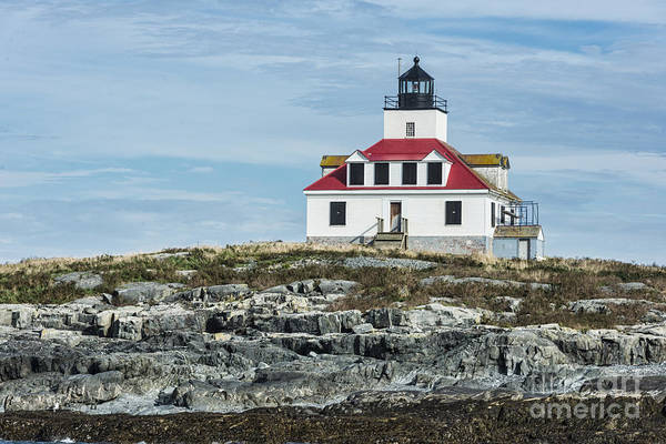 Photograph - Egg Rock Lighthouse by Anthony Baatz