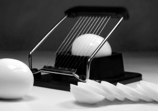 Wall Art - Photograph - Egg Slicer by Diana Angstadt