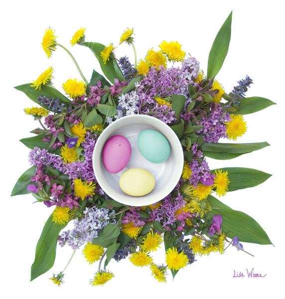 Digital Art - Eggs In A Bowl by Lise Winne