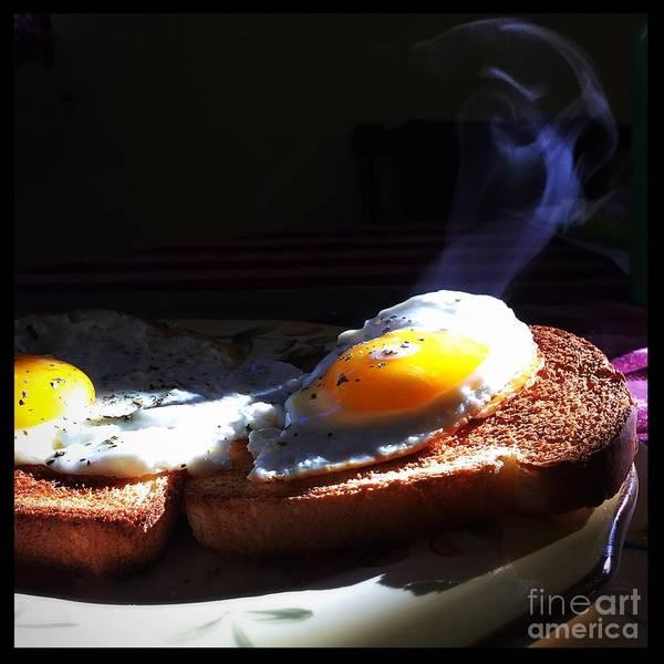 Photograph - Eggstremely Hot .... No Yoke  by Frank J Casella