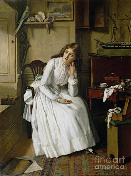 Painting - Egley, Florence Dombey by Granger
