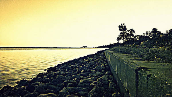Choctawhatchee Bay Photograph - Eglin Air Force Base - Remote Shoreline by Glenn McCarthy Art and Photography