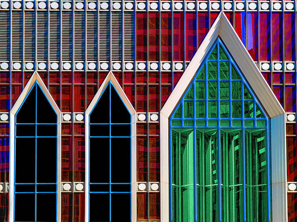 Photograph - Eglise Verre by Paul Wear