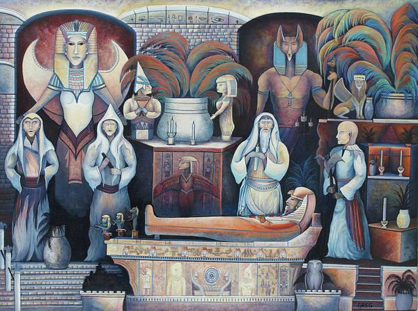 Painting - Egypt by Greg Reichert