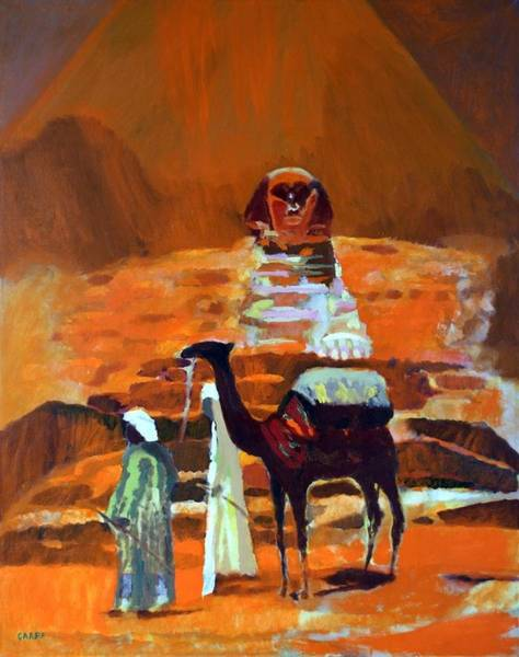 Painting - Egypt Light  by Enrico Garff