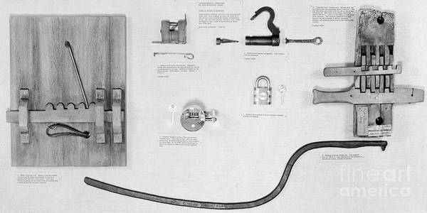 Photograph - Egyptian And Greek Locks. by Granger