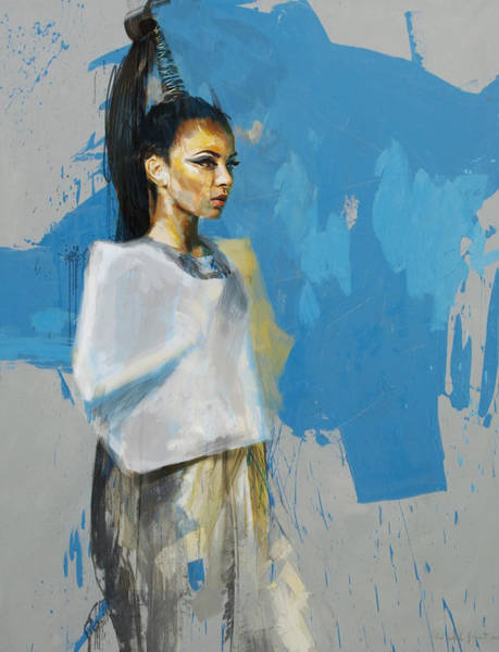 Maryam Wall Art - Painting - Egyptian Culture 12 by Maryam Mughal