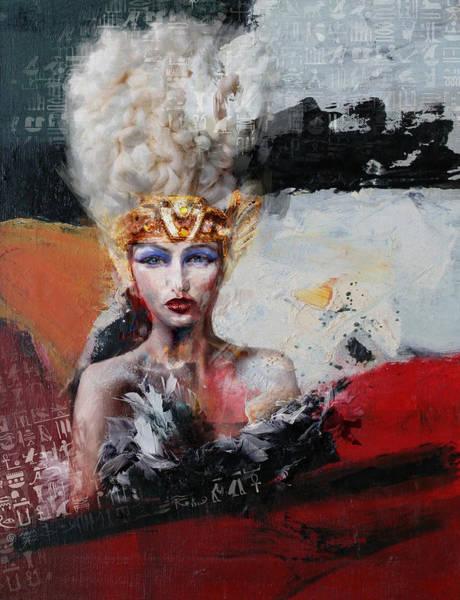 Maryam Wall Art - Painting - Egyptian Culture 29 by Maryam Mughal