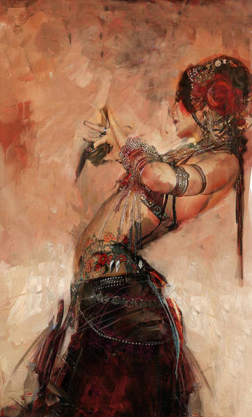 Egyptian Woman Painting - Egyptian Culture 40 by Mahnoor Shah