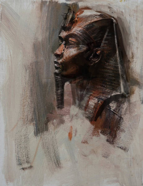 Egyptian Woman Painting - Egyptian Culture 6 by Maryam Mughal