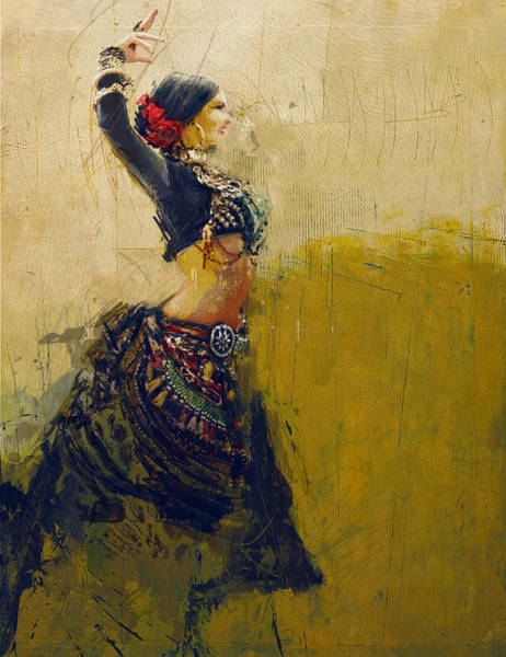Egyptian Woman Painting - Egyptian Culture 77 by Mahnoor Shah