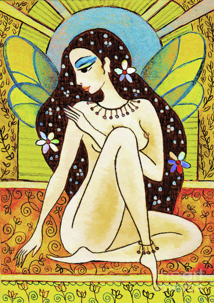Painting - Egyptian Fairy II by Eva Campbell