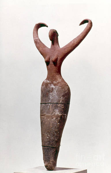 Photograph - Egyptian Figure by Granger
