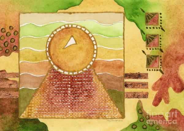 Painting - Egyptian Sun I by Amy Kirkpatrick