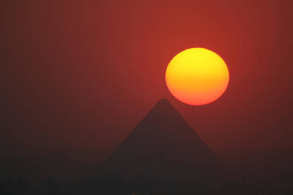 Photograph - Egyptian Sunset by Donna Corless