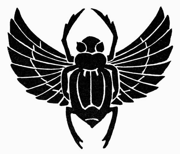 Photograph - Egyptian Symbol: Scarab by Granger