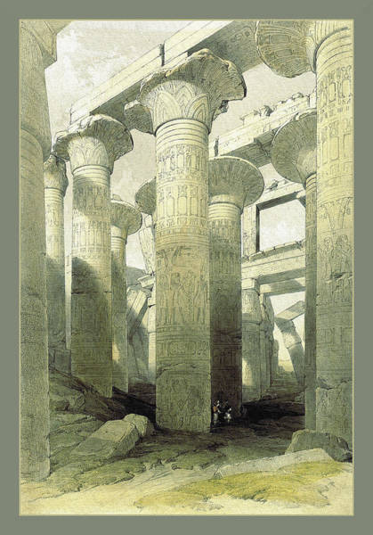 Photograph - Egyptian Temple No 3 by Robert G Kernodle
