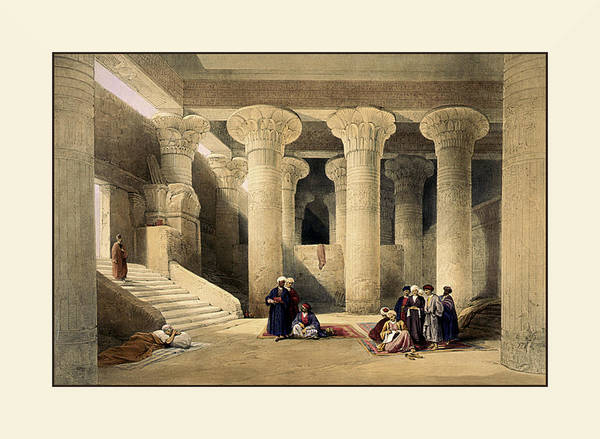 Photograph - Egyptian Temple No 5 by Robert G Kernodle