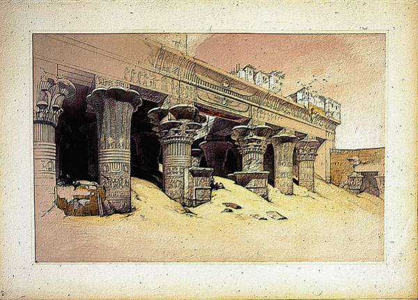 Photograph - Egyptian Temple No 1 by Robert G Kernodle