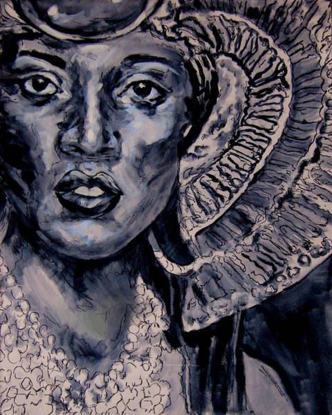 Wall Art - Painting - Egypt's Spell Queen Nefertari by Laura Heggestad
