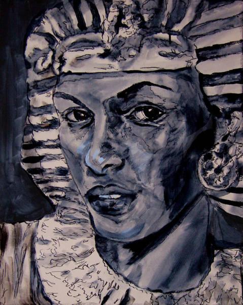 Wall Art - Painting - Egypt's Spell Queen Tiye by Laura Heggestad
