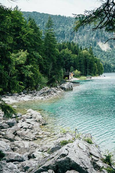 Wall Art - Photograph - Eibsee Mountain Lake by Pati Photography