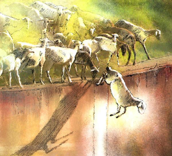 Seek Painting - Eid And Seek by Miki De Goodaboom