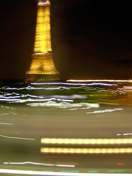 Photograph - Eiffel In Motion by Mark Currier