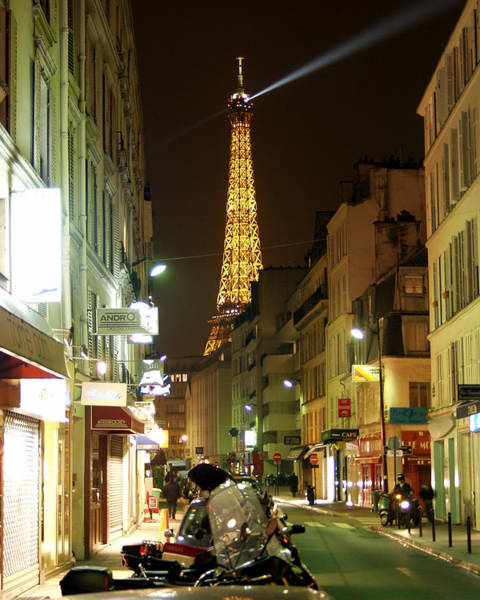 Photograph - Eiffel In The Street by Mark Currier
