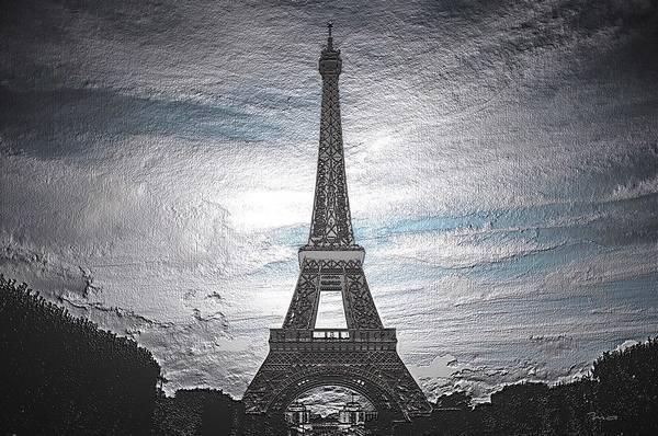 Digital Art - Eiffel by Mark Taylor