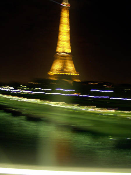 Photograph - Eiffel Moves by Mark Currier