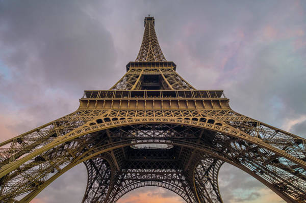 Eiffel Tower 5 Art Print
