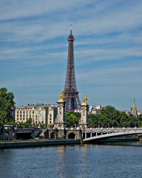 Photograph - Eiffel Tower by Anthony Dezenzio