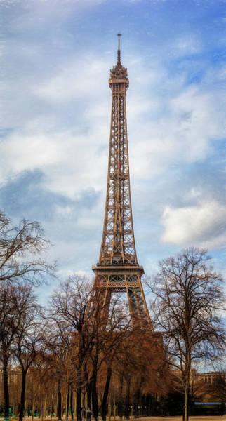 Photograph - Eiffel Tower Artistic by Joan Carroll