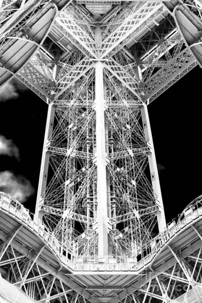 Wall Art - Photograph - Eiffel Tower Column by John Rizzuto