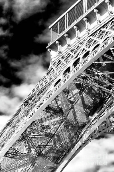 Wall Art - Photograph - Eiffel Tower Curves by John Rizzuto