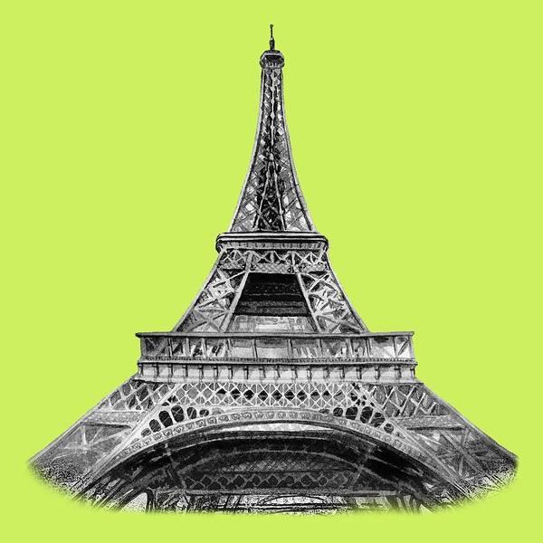 Painting - Eiffel Tower Design by Irina Sztukowski