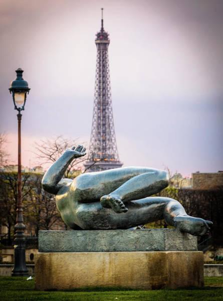Photograph - Eiffel Tower Erection by Alexandre Rotenberg