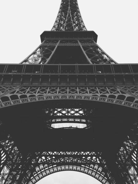 Wall Art - Photograph - Eiffel Tower  by Happy Home Artistry