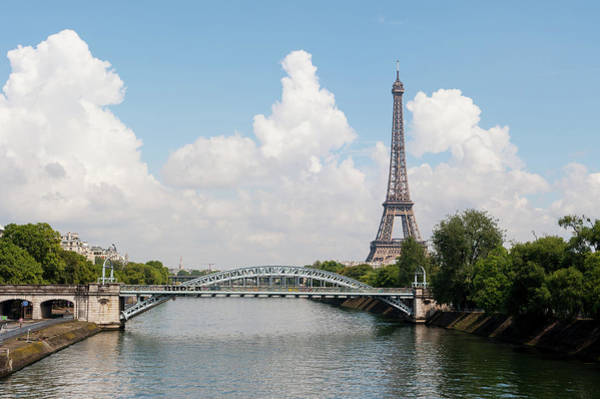 Photograph - Eiffel Tower II by Helen Northcott