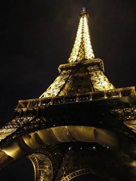 Photograph - Eiffel Tower Iv Paris France by John Shiron