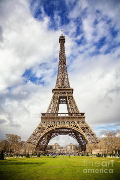 Wall Art - Photograph - Eiffel Tower by Jane Rix