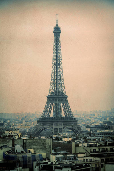 Photograph - Eiffel Tower by Joan Carroll