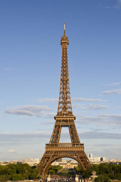 Broadcast Photograph - Eiffel Tower by Melanie Viola