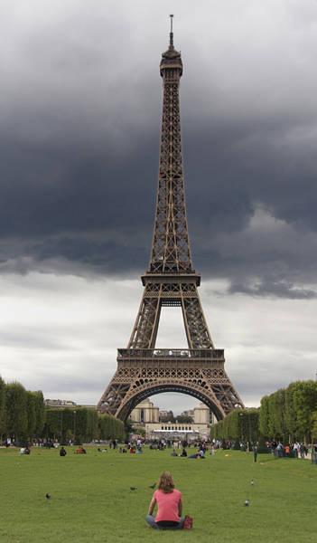 Parisian Photograph - Eiffel Tower. Paris by Bernard Jaubert