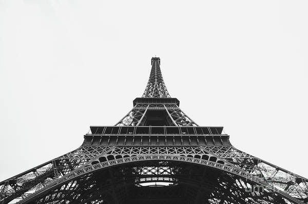 Wall Art - Photograph - Eiffel Tower Perspective  by MGL Meiklejohn Graphics Licensing